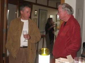 Vic Winquist catching up with Terry