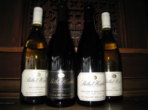 Bethel Heights new releases from the 2007 vintage